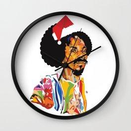 Merry Christmas, Snoop Dogg Wall Clock