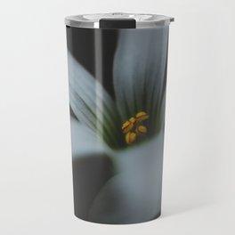 Detailed flower Travel Mug