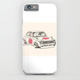 Crazy Car Art 0168 iPhone Case