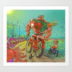 Spring Break Training Art Print