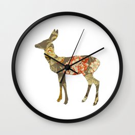 The Deer and the Garden Wall Clock