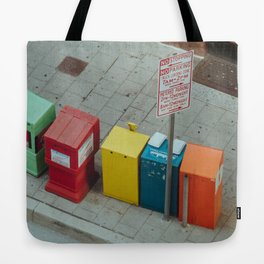 Bright City Tote Bag