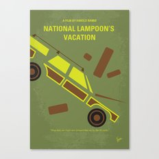 No412 My National Lampoon's Vacation minimal movie poster Canvas Print