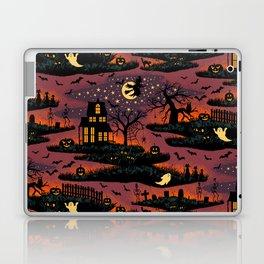 Halloween Night - Bonfire Glow Laptop & iPad Skin