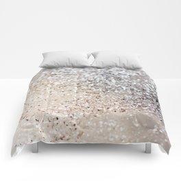 Sparkling GOLD Lady Glitter #6 #decor #art #society6 Comforters