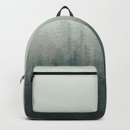 Into The Misty Nature - Turquoise Green Backpack