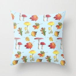 Sweet Botanical Throw Pillow