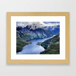 Misty Fiords National Monument Framed Art Print