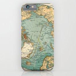 See Atlas 1906 - German Sea Atlas - The Arctic, Bering Strait, Reykjavik, Drontheim iPhone Case