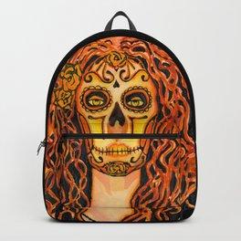 Autumnal Dia de los Muertos Backpack