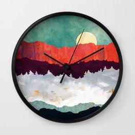 Spring Moon Wall Clock