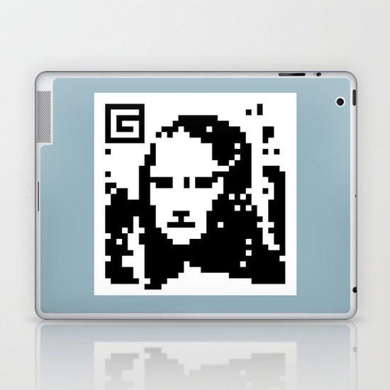QR- Monalisa Laptop & iPad Skin