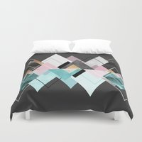 nordic Duvet Covers featuring Nordic Seasons by Elisabeth Fredriksson