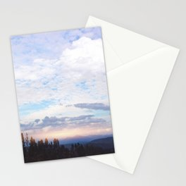 Landscape & Clouds Stationery Cards