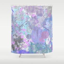 Dull Splatter Shower Curtain
