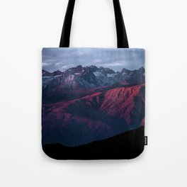 Red mountain 4 Tote Bag