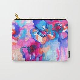 Watercolor floral arrangement. Carry-All Pouch