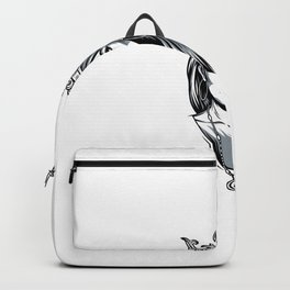 Chica Guapa Vintage Adornada Backpack