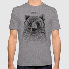 I Like You (Bear) T-shirt