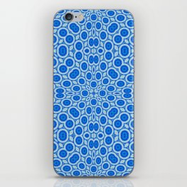 Country Blue and White Bubble Pattern iPhone Skin