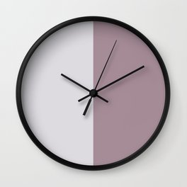 Half and Half Wall Clock