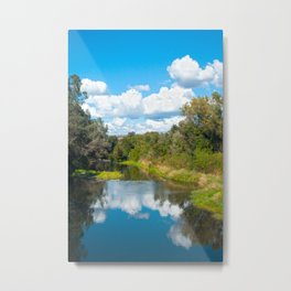 Big Chico Creek, Chico CA Metal Print