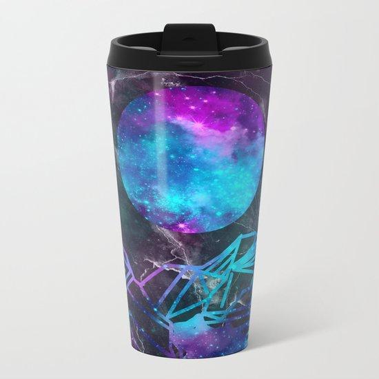 galaxy landscape Metal Travel Mug