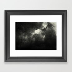 Hole In The Sky I Framed Art Print