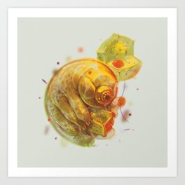 Tardigrade Party Art Print