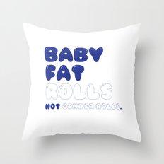 CHUBBY BABY Throw Pillow