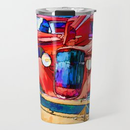Vintage US classic car Travel Mug