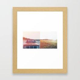 The Gorge Framed Art Print