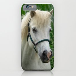 Horse and Sunflowers iPhone Case