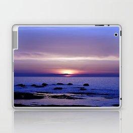 Blue and Purple Sunset on the Sea Laptop & iPad Skin