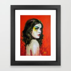 Pyro Framed Art Print