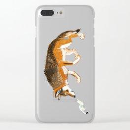 Italian Wolf & Stoat (c) 2017 Clear iPhone Case