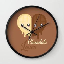 Chocolate Heart Wall Clock