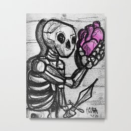 To love or not to love Metal Print
