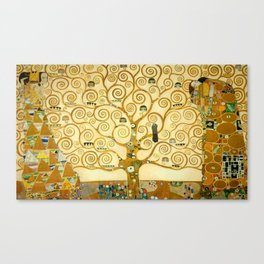 "Gustav Klimt ""Tree of life"" Canvas Print"