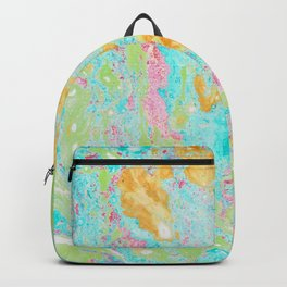 Acid on Easter (Alcohol Inks Series 02) Backpack