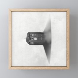 TARDIS Sound Barrier Framed Mini Art Print