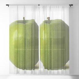 Green Apple Sheer Curtain