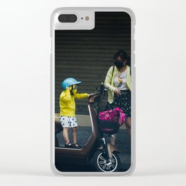 easy rider Clear iPhone Case