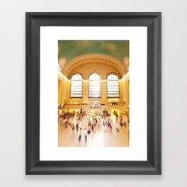 Grand Central Station NYC Framed Art Print