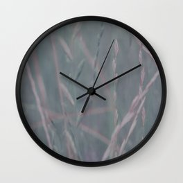 Shades of grass Wall Clock