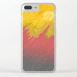 Final in fire Clear iPhone Case