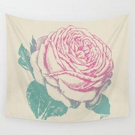 rosa rosae rosarum Wall Tapestry