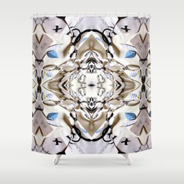 Ojos Biancos 03 Shower Curtain
