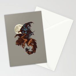 Bestiary / Manticore Stationery Cards