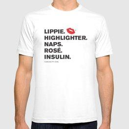 Lippie Highlighter Insulin (Pink Kiss) T-shirt